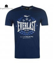 Футболка Everlast темносиня (маломірка)