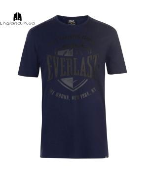 Футболка Everlast чоловіча темносиня для тренувань