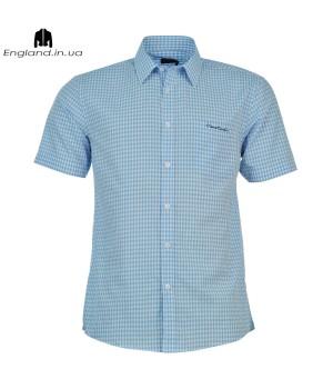 Сорочка Pierre Cardin світло-синя літня